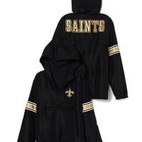 New Orleans Saints Half-Zip Windbreaker - PINK - Victoria's Secret