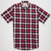 Coastal Union Mens Shirt Red  In Sizes