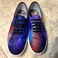 Galaxy Shoes by ThoseShoess on Etsy