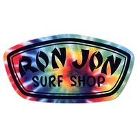 Ron Jon Tie Dye Badge Sticker