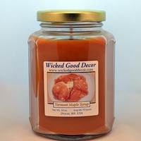Glass Jar Candle - Vermont Maple Syrup