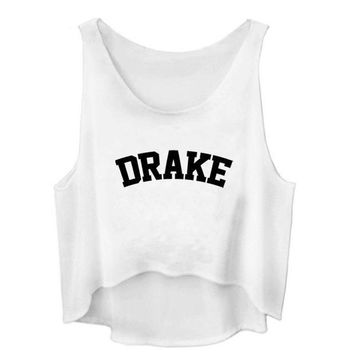 Drake - Women's Crop Tank Top