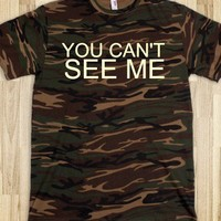 Camo You cant see me