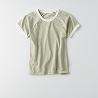 AEO Tomgirl T-Shirt , Dusty Sage