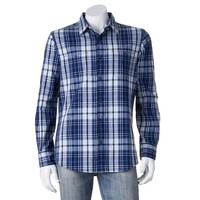 SONOMA life + style Plaid Button-Down Shirt
