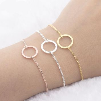 Stainless Steel Round Design Bracelet
