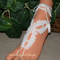 #beach #wedding #foot #jewelry #barefoot #sandals #shoes #awesome #trendy #unique #bohemian #hippie #fashion #legwear
