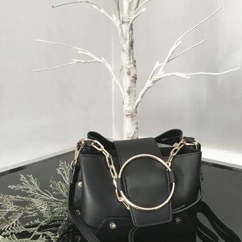 Melly Black Crossbody Bag