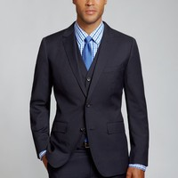 The Foundation Suit Slim - Navy