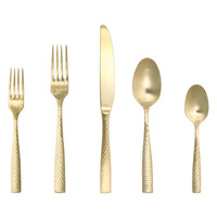 Titan PVD Lucca Flatware Set (5 PC)