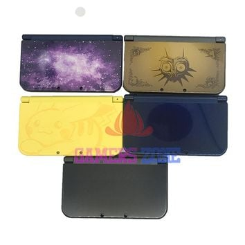 For Nintendo Pikachu Zelda Galaxy Style New 3DSXL Case Replacement Housing Shell Case For New 3DS XL LL Case Cover