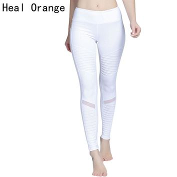 HEAL ORANGE Women Yoga Leggings High Waisted Yoga Athletic Pant Leggins Sport Women Fitness Sport Leggings Women Sports Clothing