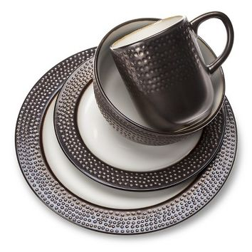 Threshold™ Barnet Bronze 16 piece Dinnerware Set