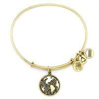 Alex and Ani Make Your Mark Charm Bangle - Russian Gold