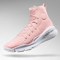 """Under Armour Curry 4 """"Flushed Pink"""" Basketball Shoes"""