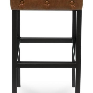 Douglas & David Bar Stool Dark Brown