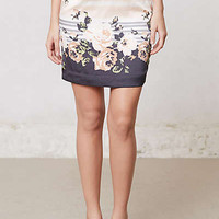 Anthropologie - Banded Blossoms Pencil Skirt