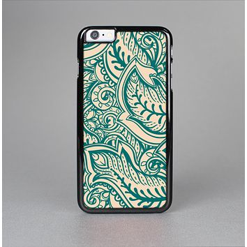 The Delicate Green & Tan Floral Lace Skin-Sert for the Apple iPhone 6 Skin-Sert Case