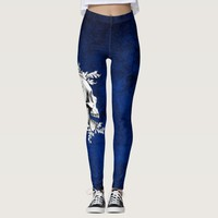 Skull Cameo 1 Leggings