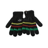 Celtek Womens Knit Striped Everyday Gloves