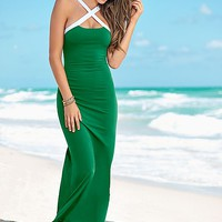 Crisscross maxi dress in the VENUS Line of Dresses for Women