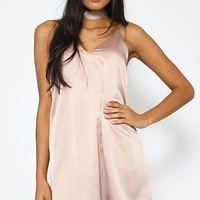 Harbourside Dress - Beige