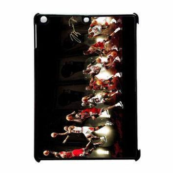 LMFUG7 Michael Jordan NBA Chicago Bulls Dunk iPad Air Case