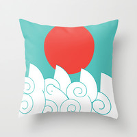 Costa Rica Throw Pillow by ProArte