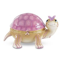 Pretty In Pink Turtle Music Box: Breast Cancer Awareness Gift by The Bradford Exchange