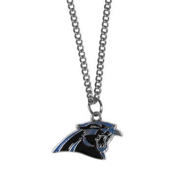 Carolina Panthers Chain Necklace with Small Charm FN170SC