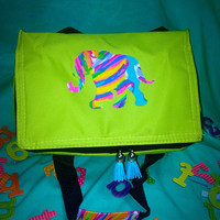 Custom Lilly Pulitzer Insulated Cooler Snack Tassel Bag
