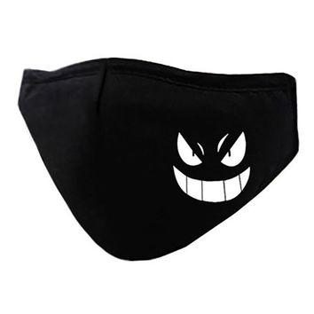 Anime Pokemon Fairy Tail FFF Cotton Anti-Dust Face Mask Luminous mouth muffle unisex Cosplay Fashion Costumes Accessories Gift
