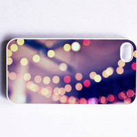 Iphone Case Plum Sparkle Bokeh Dreamy by SSCphotographycases