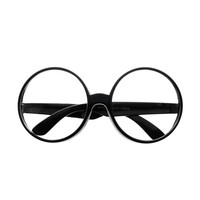 Oversized Large Clear Lens Circle Round Glasses Frames O14