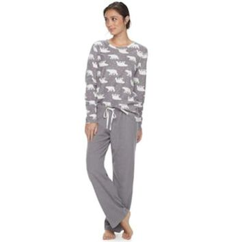 Women's Sonoma Goods For Life??pajamas: Microfleece 2 Piece Pj Set | Null