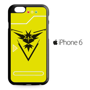 Pokemon Pokedex Instinct Team iPhone 6 Case