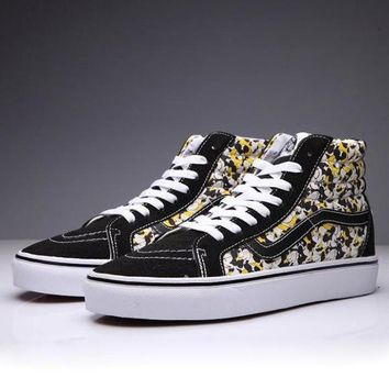 VANS X Disney SK8-Hi Canvas Ankle Boots Flats Sneakers Sport Shoes