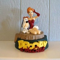 Tex Avery Droopy and The Girl Statue Demons & Merveilles 1998 Original Box
