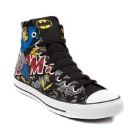 Converse All Star Hi Batman Athletic Shoe, Black | Journeys Shoes