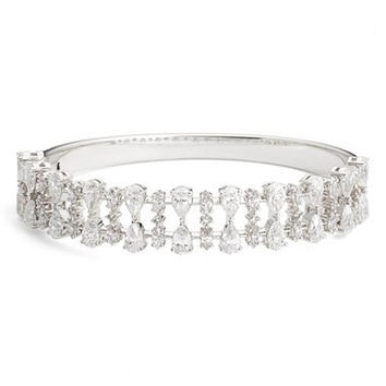 'Audrey' Cubic Zirconia Bangle