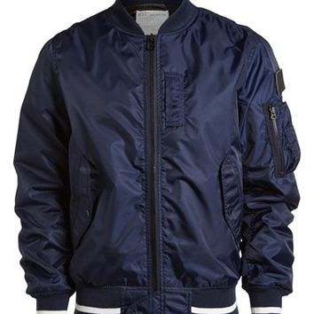 :CHOCOOLATE 'MA1' Bomber Jacket (Men)