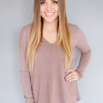Bear Valley Sweater Mauve