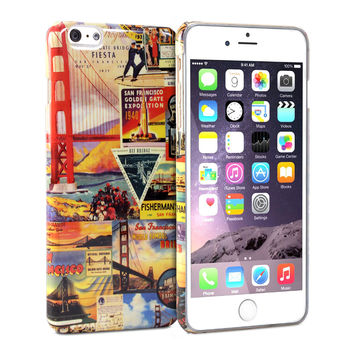 Snap Cover Glossy (San Francisco Pattern) for iPhone 6 Plus