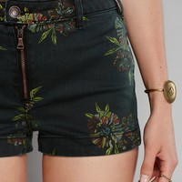 Free People Paige's Printed High Rise Shorts