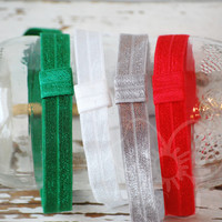 Festive headband set from VioletsBuds