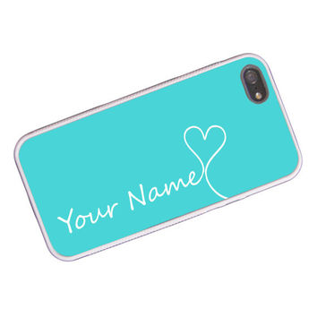 Monogrammed iPhone Case in Tiffany Blue by hhprint on Etsy