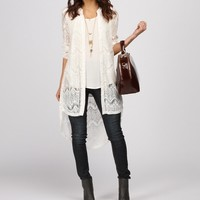 Sale-white Lace Obsession Top