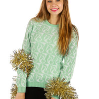 Whinte Ugly Christmas Sweater