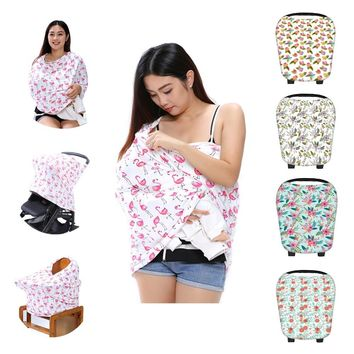 Multi-Use Car seat Cover Floral Prints