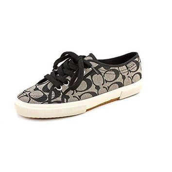 Coach Women's Kalyn Sneaker (Black/white, 9.5)
